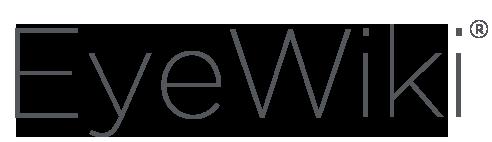 'EyeWiki' from the web at 'http://eyewiki.org/w/extensions/EyeWiki/skins/chameleon/EyeWiki_Logo.png'