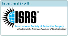 In partnership with   The International Society of Refractive Surgery (ISRS),